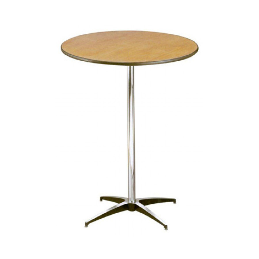 24 High Top Table With Pedestal