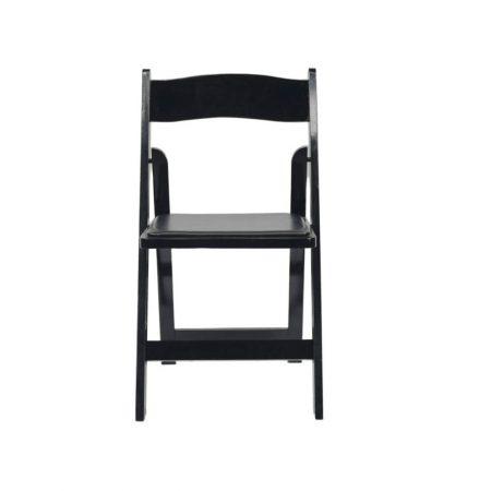 black-wood-folding-chair