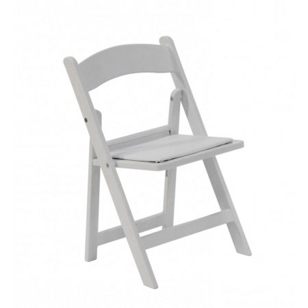 Chair Folding Children Resin White